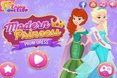 Принцессы хотят примерить на себе современный наряд