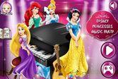 Создайте музыкальную группу с принцессами
