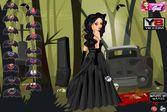 Создайте образ для красивой девушки-вамп