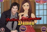 Помогите Елене собраться на свидание с Деймоном