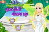 Фея принцесса в салоне красоты