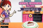 Кухня Сары банановый торт