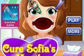 София прекрасная лечит горло