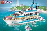 Лего Френдс катание на водных лыжах