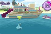Лего Френдс девчонки развлекаются с дельфинами