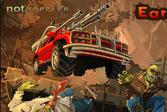 Красная машинка Вилли и монстры