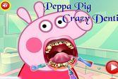 Свинка Пеппа лечит зубы у врача
