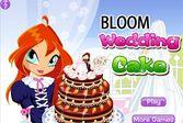 Свадебный торт Блум