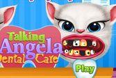 Говорящая кошка Анжела лечит зубы