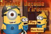 Миньоны пожарники