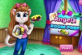 Анжела делает ремонт в комнате