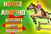 Лошади тренировка прыжков через барьеры