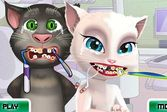Анжела и Том у стоматолога