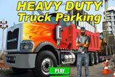 Парковка тяжёлого грузовика
