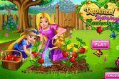 Рапунцель знакомит дочурку с овощеводством