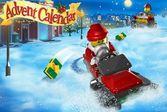Лего сити гонки на снегоходах