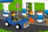 Лего сити заправка