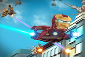 Железный человек из Лего
