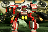 Лего: Бои роботов в джунглях