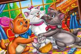 Коты Аристократы: Раскраска