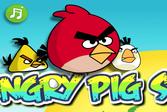 Злые свиньи - кража яиц (Angry pig steals eggs)