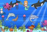Магический подводный мир