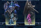 Война супер роботов в космосе