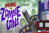 Трансформеры Против Зомби сражаются изо всех сил