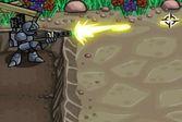 Миротворец в битве с роботами