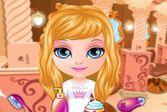 Сказочная принцесса в парикмахерской