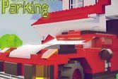 Лего Сити парковка в городе