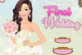 Подготовка цветочной свадьбы