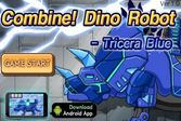 Роботы Динозавры: Трицератопс