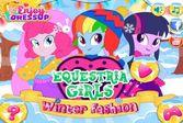 Девушки Эквестрии: Зимняя Мода для красавиц