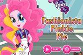 Девушки Эквестрии: Модница Пинки Пай собирается на вечеринку