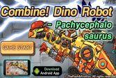 Роботы Динозавры: Пахицефалозавр