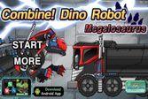 Роботы Динозавры: Мегалозавр