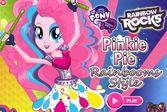 Пинки Пай Радужный Стиль для концерта