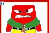 Раскрасьте эмоцию злости