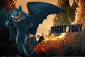 Пазл - Ночная Фурия
