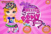 Барби: Одежда в Стиле Пони