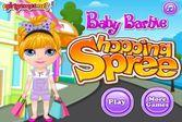Малышка Барби на Шоппинге