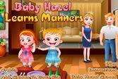 Учите манеры вместе с Хейзел