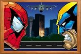 Пазл: Росомаха против Человека-Паука