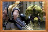 Пазл: Халк против Росомахи