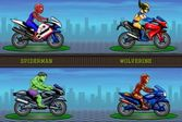 Супергерои: Мотогонки