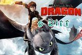 Как приручить дракона найди пять отличий