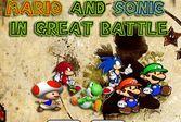Марио и Соник на защите замка