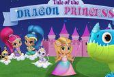Шиммер и Шайн принцесса и дракон