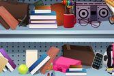 Найди предметы в школьном магазине
